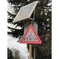 Panneaux signalisation renforcée à LED