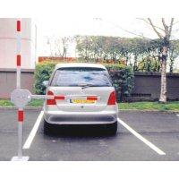 Barrière de parking double bras