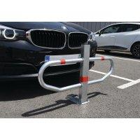 Barrière flexible Protège Parking Galva ou laqué