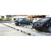 Butée de Parking en métal laqué Jaune/Noir
