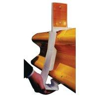 Clip catadioptre PVC pour glissières
