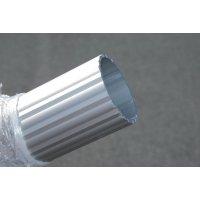 Mâts design en aluminium cannelé à sceller