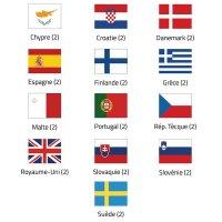 Pavillons pays de l'union européenne Groupe 2