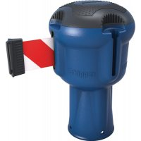 Enrouleur bleu sangle 9 m pour poteau Skipper™ ou cône