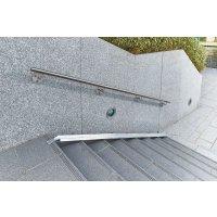 Rampe d'accès pour les vélos dans les escaliers