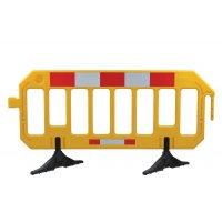 Barrière mobile haute visibilité