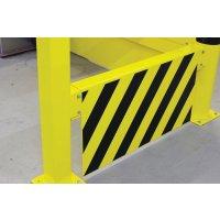 Plaques de renfort pour barrière de sécurité