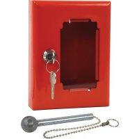 Boîtes pour clés de secours en acier