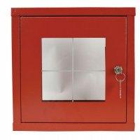 Boîte sous verre dormant avec fermeture par clé