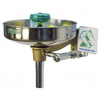 Laveur d'yeux à flux laminaire inversé vasque inox