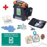 Pack défibrillateur automatique avec module RCP
