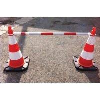Balisage rapide pour cônes de chantier