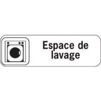 Plaque de porte en polypropylène Espace de lavage
