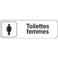 Plaque de porte en polypropylène Toilettes Femmes