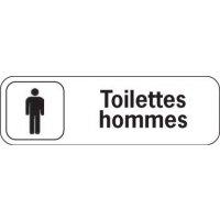 Plaque de porte en polypropylène Toilettes Hommes