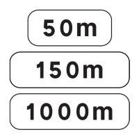 Panonceau complémentaire type AB modèle M1