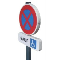 Kit de stationnement EUROP places personnes handicapées