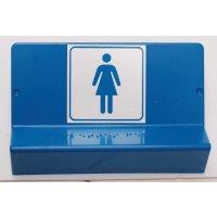 Plaque en Braille 3D Défense d'entrer