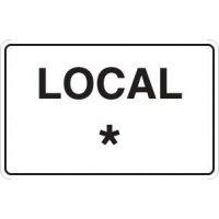 Panneau en PVC local avec personnalisation