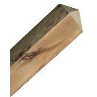 Mât en bois carré 95 x 95 mm