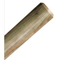 Mât en bois rond diamètre 95 mm hauteur 1500 mm