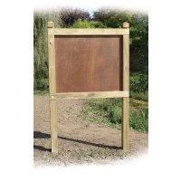 Planimètre bois 800 mm x 1.2 m panneau contre-plaqué