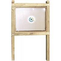 Planimètre Classic bois +vitrine recto ou recto/verso