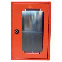 Boîte rectangulaire sous verre dormant fermeture à clé