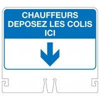 Support pour cône Alu/PVC/Alu Recto/verso Standard