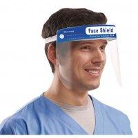 Visière de protection visage antibuée