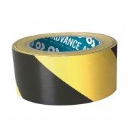 Bande adhésive au sol jaune et noir 33 m