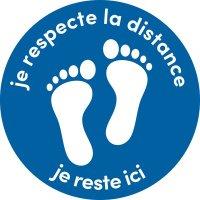 Poster respect Reste ici pour Enfants