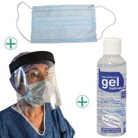 Kit de protection anti-virus 10 personnes