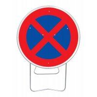 Panneau pied solidaire Arrêt et stationnement interdit