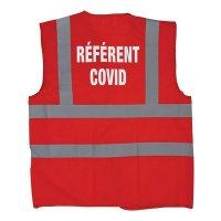 """Gilet de sécurité marquage """"Référent COVID"""""""