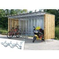 Abri multi-usages + range-vélos OFFERT