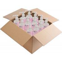 Carton 12 lotions lavantes neutre pour les mains 500 ml