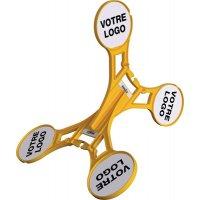 Chevalet de signalisation 360° personnalisable