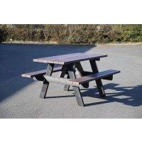 Table pique-nique en plastique recyclé et recyclable