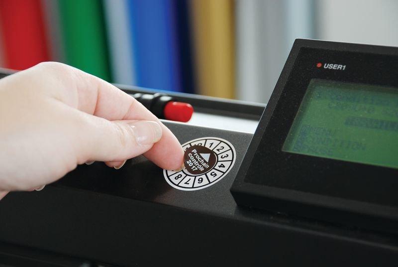 Pastille numérotée de contrôle en vinyle - Signals
