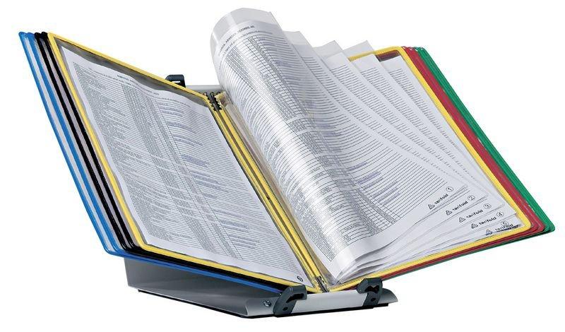 Pupitre de table protège-documents