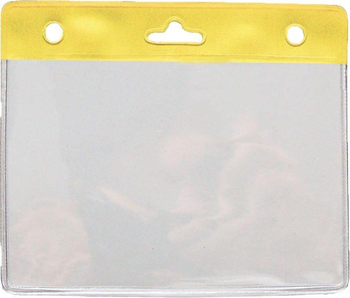 25 porte-badges pour cartes 86 x 54 mm