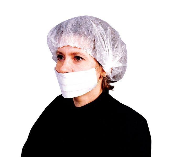Boîte de 50 masques chirurgicaux blancs