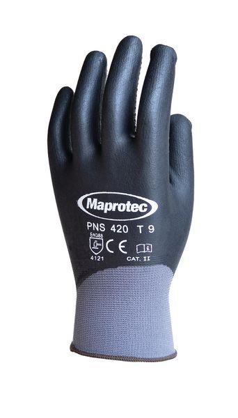 Gants de sécurité en nylon avec picots