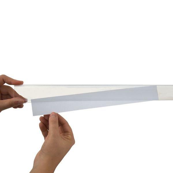 Porte-étiquettes adhésifs en bande pour rayonnages - Signals
