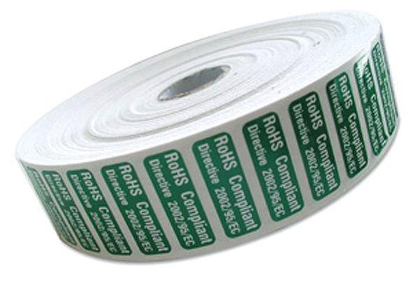 Rouleaux 500 Etiquettes polyester laminé
