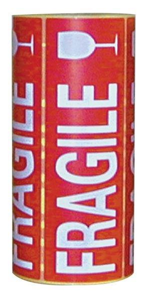 Etiquettes emballage en papier adhésif