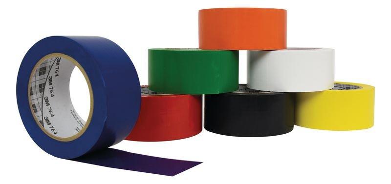 Ruban adhésif multi-usage 764 3M™ 7 coloris - Rubans adhésifs