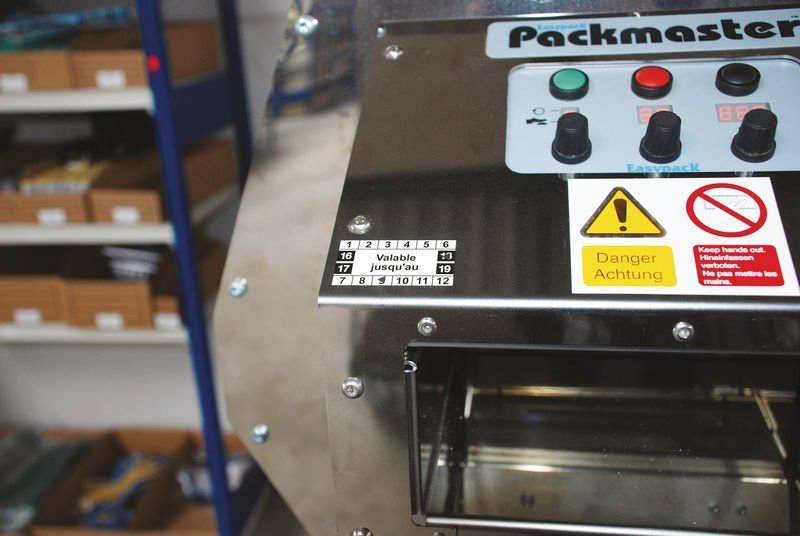 20 pastilles de contrôle 50x25 mm Vinyle personnalisées - Signals