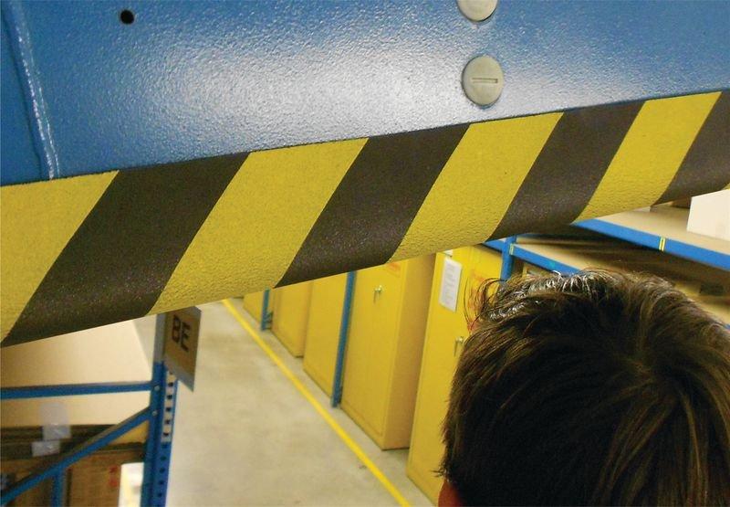 Protection en mousse conformable jaune et noir - Signals
